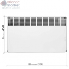 Конвектор електричний Atlantic F17 ESSENTIAL CMG BL-meca 1500W