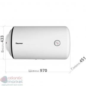 Thermor O`Pro Horizontal HM 100 D400-1-M