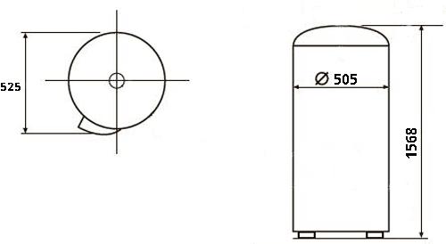 БОЙЛЕР Atlantic O`Pro Wall Hang ATE VMAE 200 BL MO - инструкция по монтажу