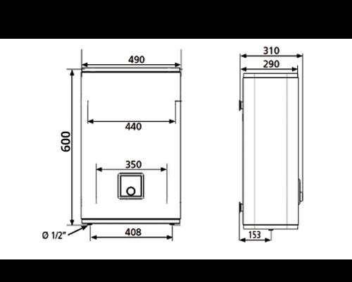 БОЙЛЕР Atlantic Vertigo O`Pro MP 025 F220-2E-BL - инструкция по монтажу