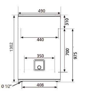 БОЙЛЕР Atlantic Vertigo Steatite 100 MP 080 F220-2-EC - инструкция по монтажу