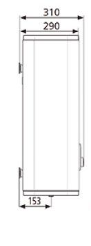 ВОДОНАГРІВАЧ Atlantic Vertigo Steatite 80 MP 065 F220-2-EC - інструкція по монтажу