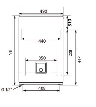 БОЙЛЕР Atlantic Vertigo Steatite 30 MP 025 F220-2-EC - инструкция по монтажу