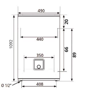 БОЙЛЕР Atlantic Vertigo 80 MP 065 F220-2-EC - инструкция по монтажу