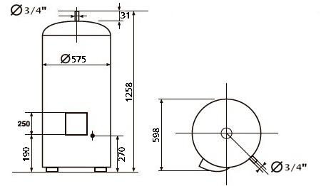 БОЙЛЕР Atlantic VSRS 200 - инструкция по монтажу