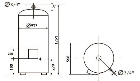 БОЙЛЕР Atlantic VSRS 300 - инструкция по монтажу